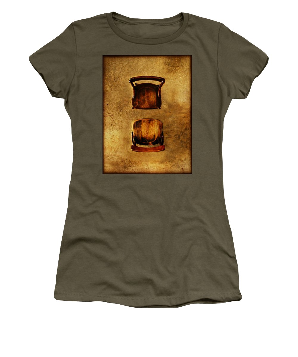 Dipasquale Women's T-Shirt featuring the photograph The Space Between You And Me by Dana DiPasquale