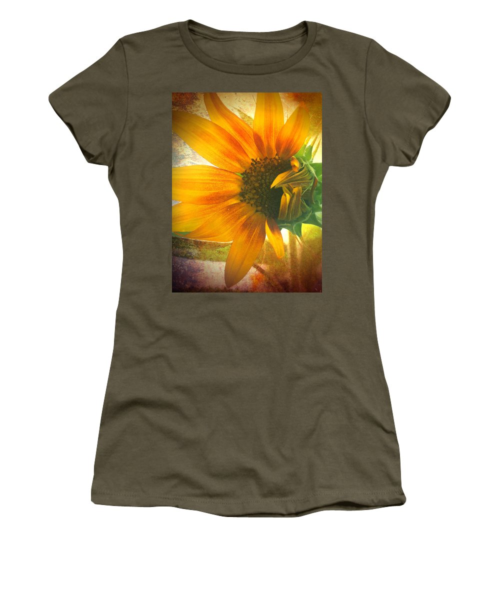 Sunflower Women's T-Shirt featuring the photograph The Truth-teller by Tara Turner