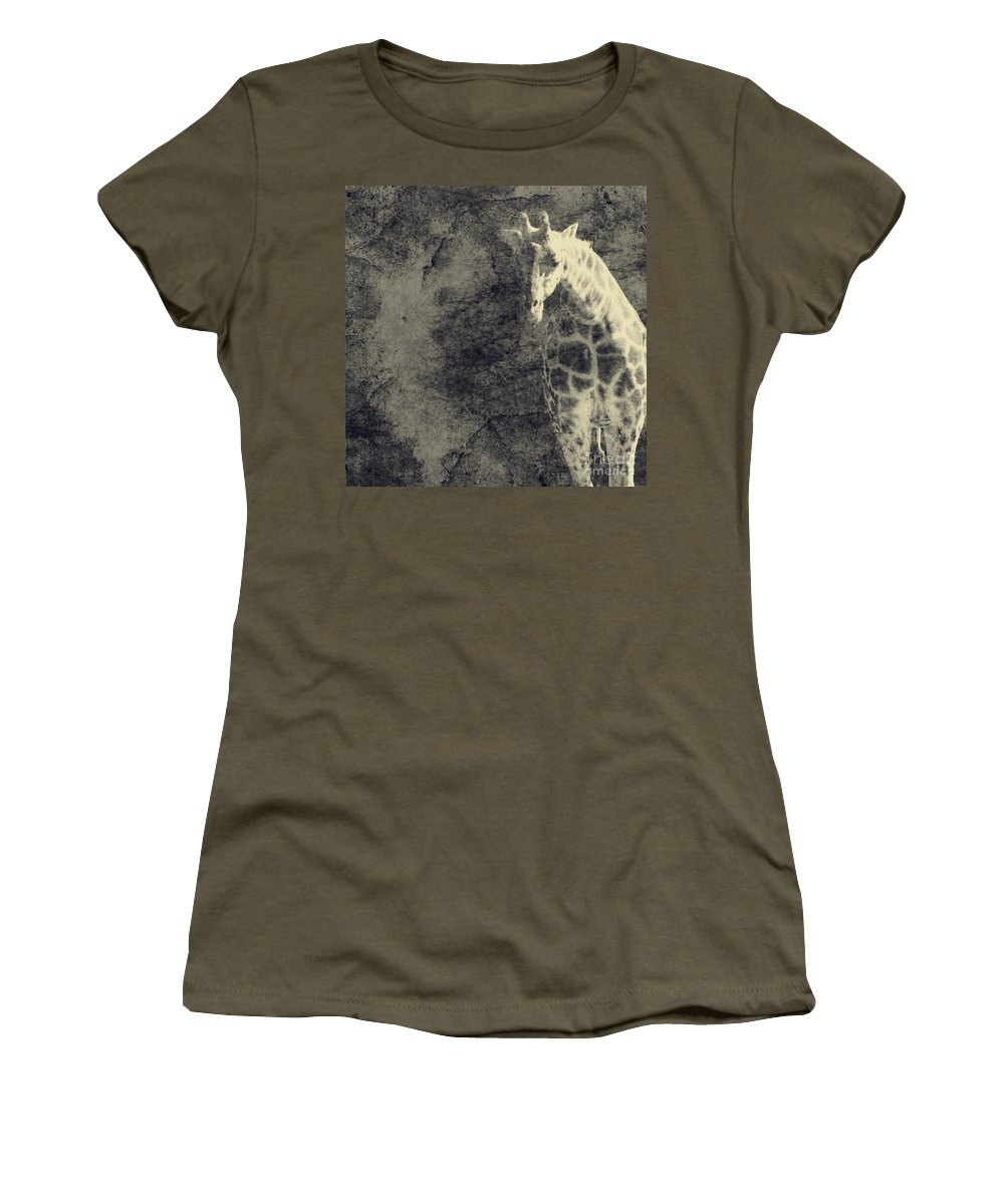 Dipasquale Women's T-Shirt (Athletic Fit) featuring the photograph ...the Vast Expanses Of The Earth by Dana DiPasquale
