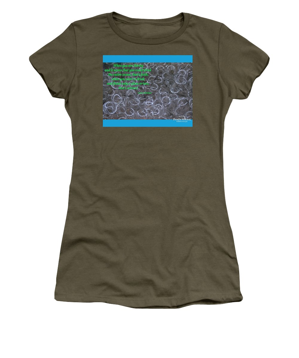 Thirsty Women's T-Shirt featuring the photograph Thirsty by PatriZio M Busnel