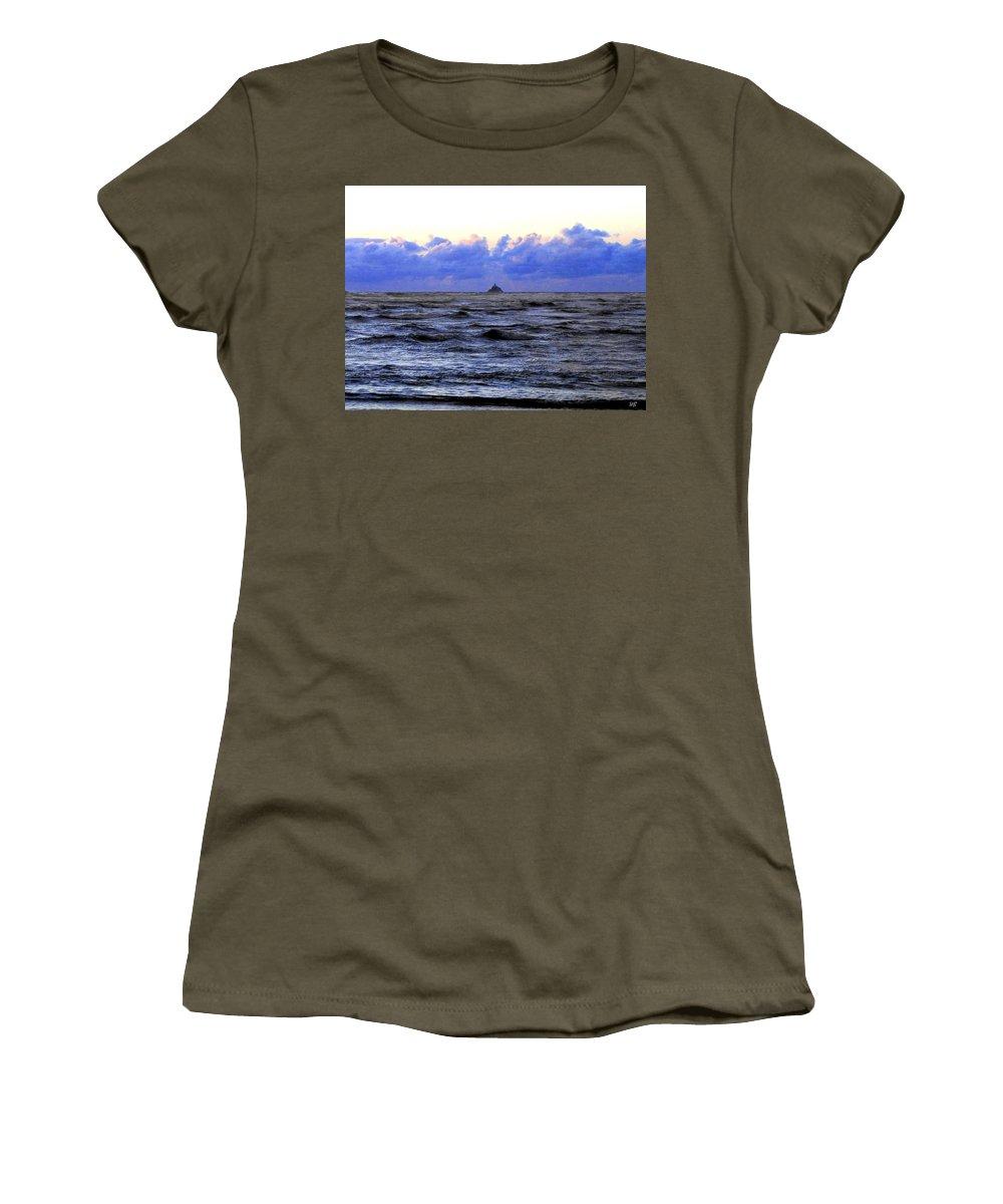 Lighthouse Women's T-Shirt featuring the photograph Tillamook Rock Lighthouse by Will Borden