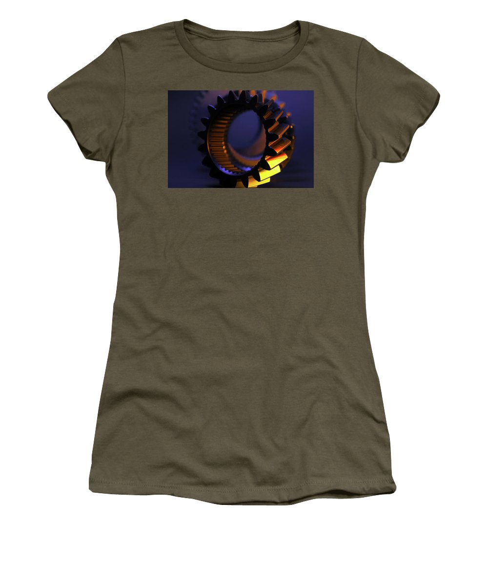 Time Women's T-Shirt featuring the photograph Time by Chris Fleming