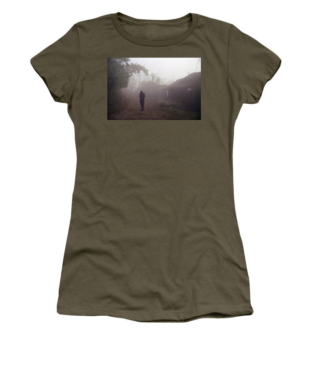 Nepal Women's T-Shirt featuring the photograph Tristesse by Patrick Klauss