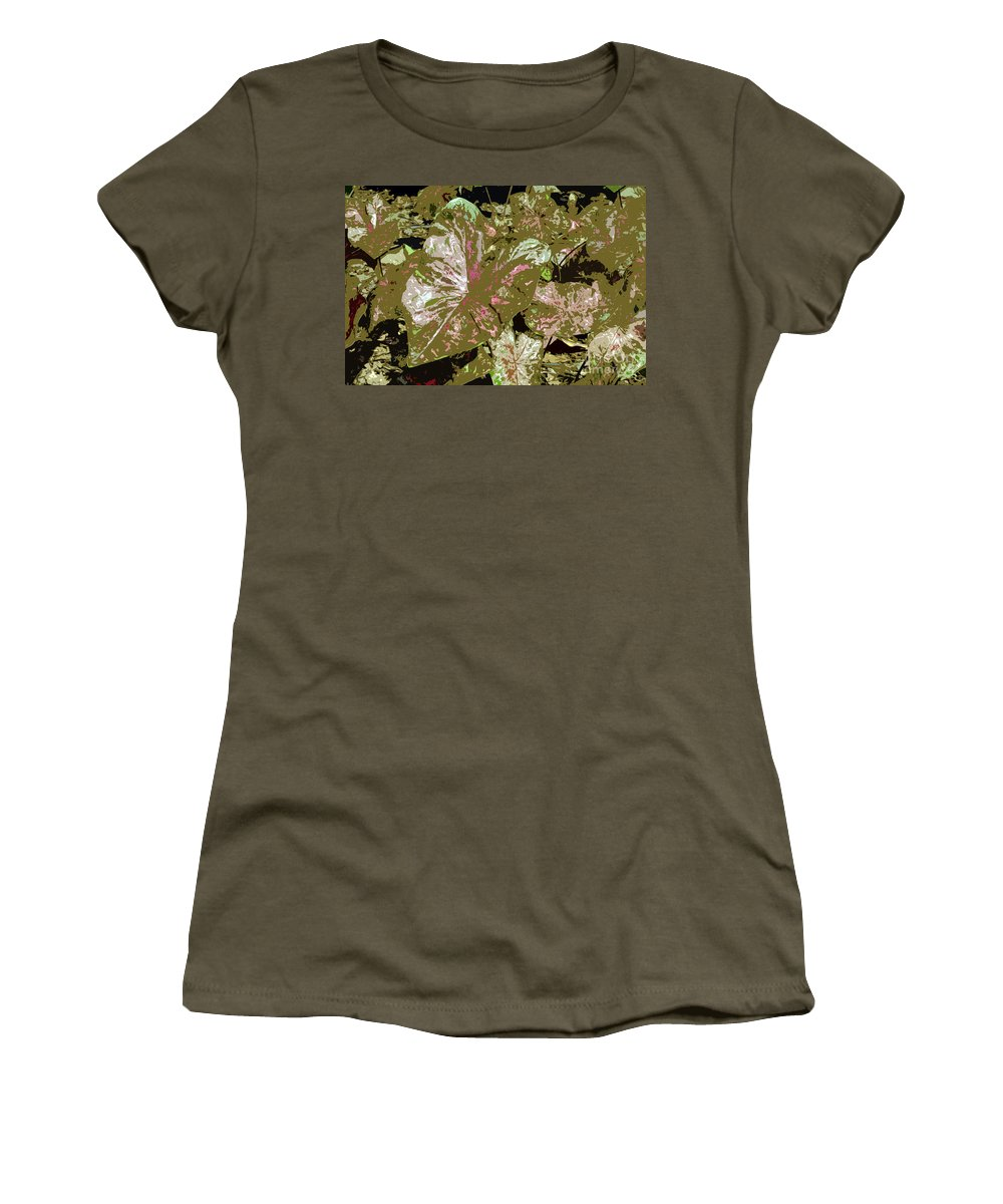 Tropical Women's T-Shirt featuring the photograph Tropicals by David Lee Thompson