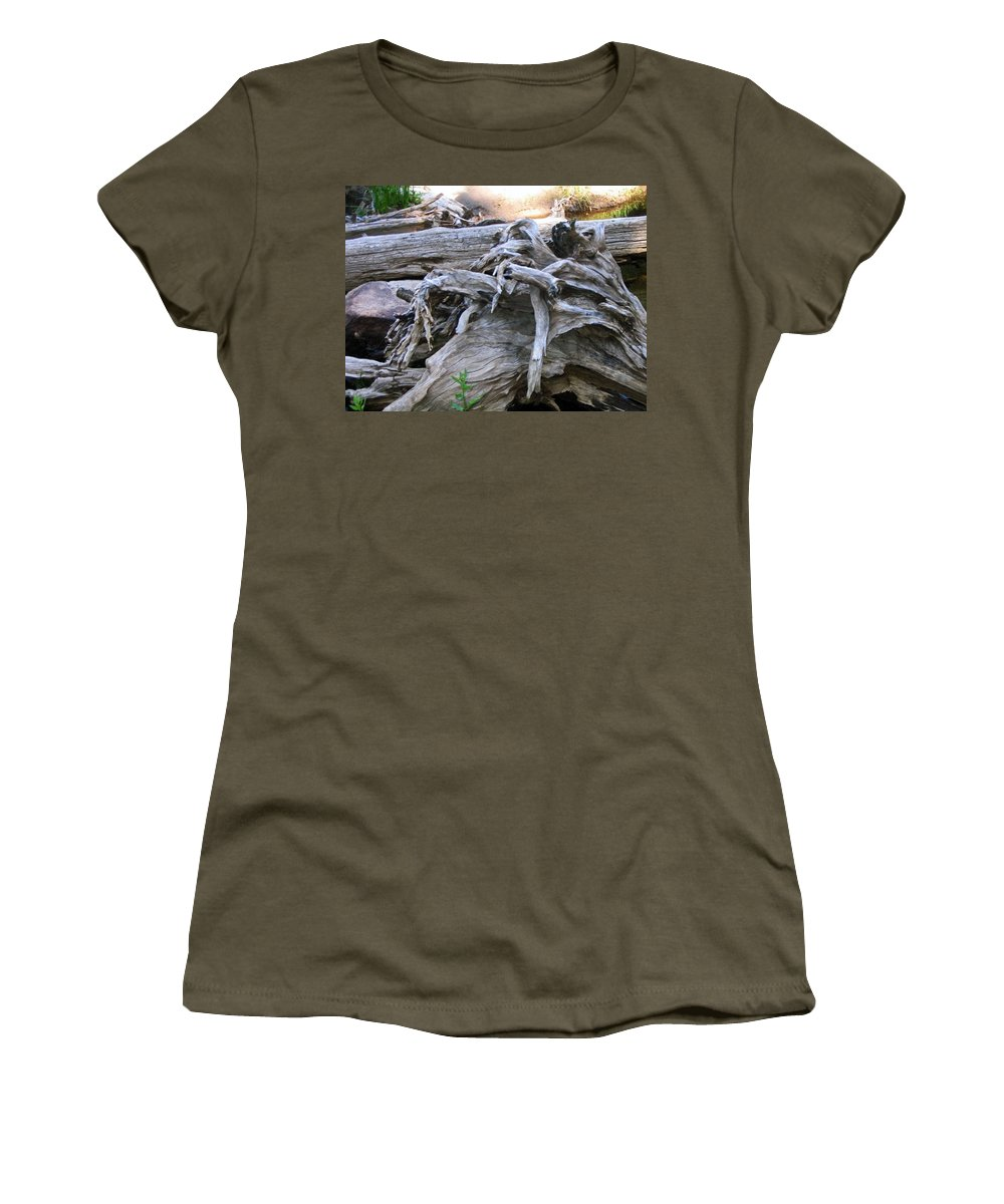 Landscape Women's T-Shirt featuring the photograph Twisted Fate by Dawn Marshall