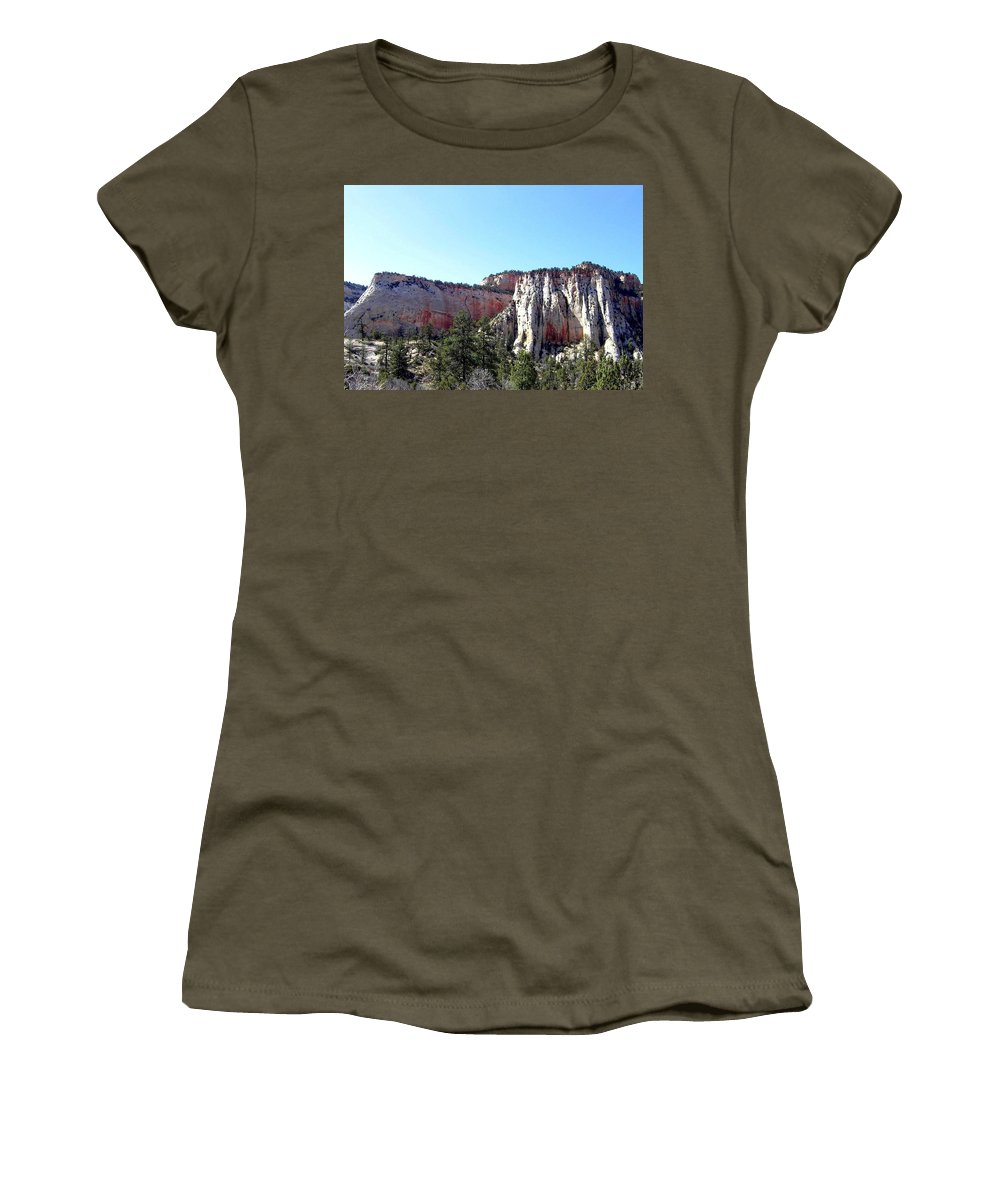 Utah Women's T-Shirt (Athletic Fit) featuring the photograph Utah 12 by Will Borden