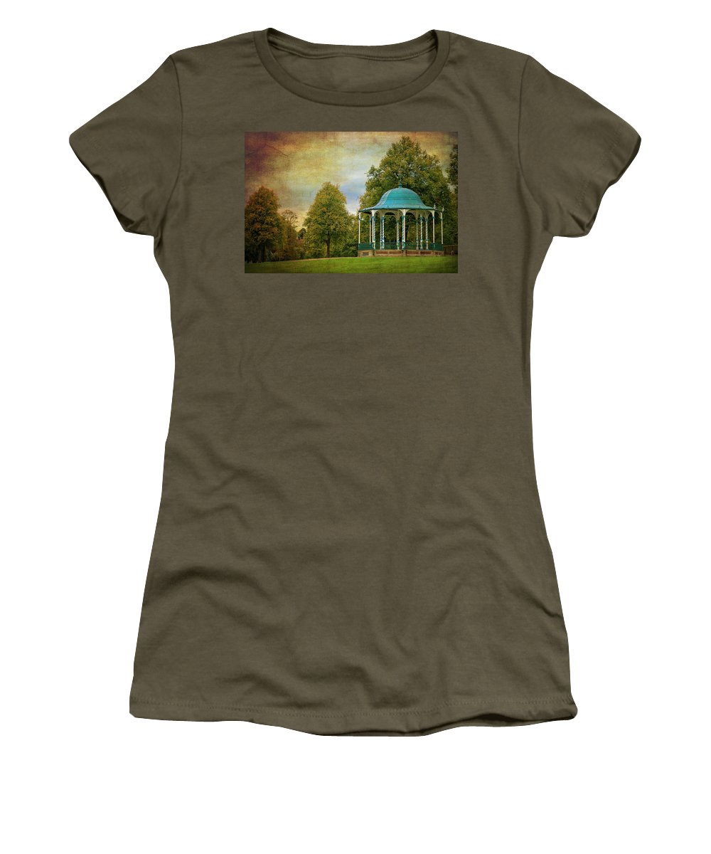 Victorian Women's T-Shirt featuring the photograph Victorian Entertainment by Meirion Matthias