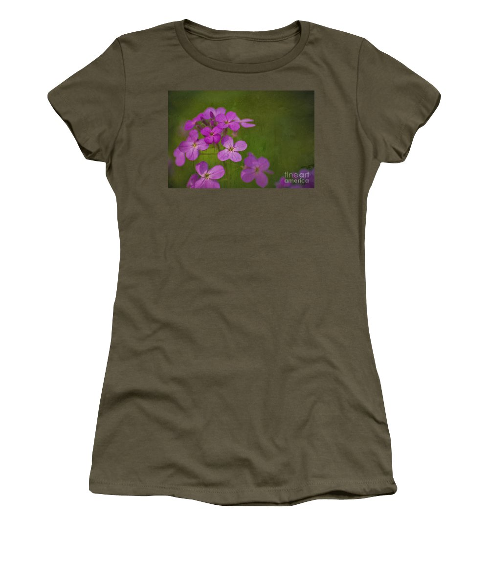 Flowers Women's T-Shirt featuring the photograph Wild And Wonderful by Tony Bazidlo