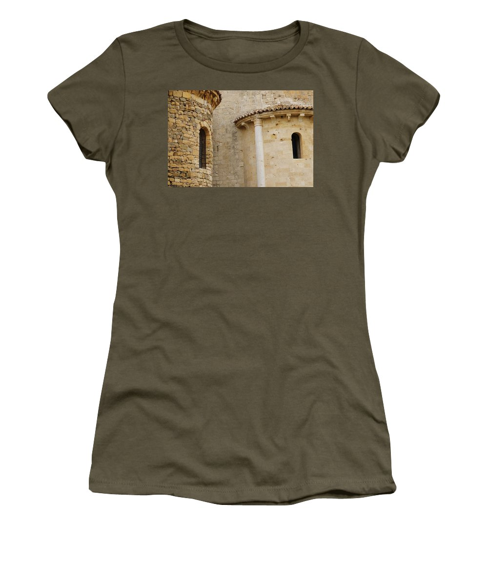 Italy Women's T-Shirt featuring the photograph Window Due - Italy by Jim Benest