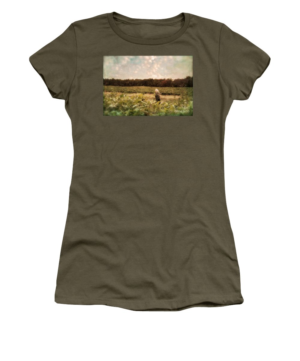 Landscape Women's T-Shirt featuring the photograph Wonder by Lois Bryan