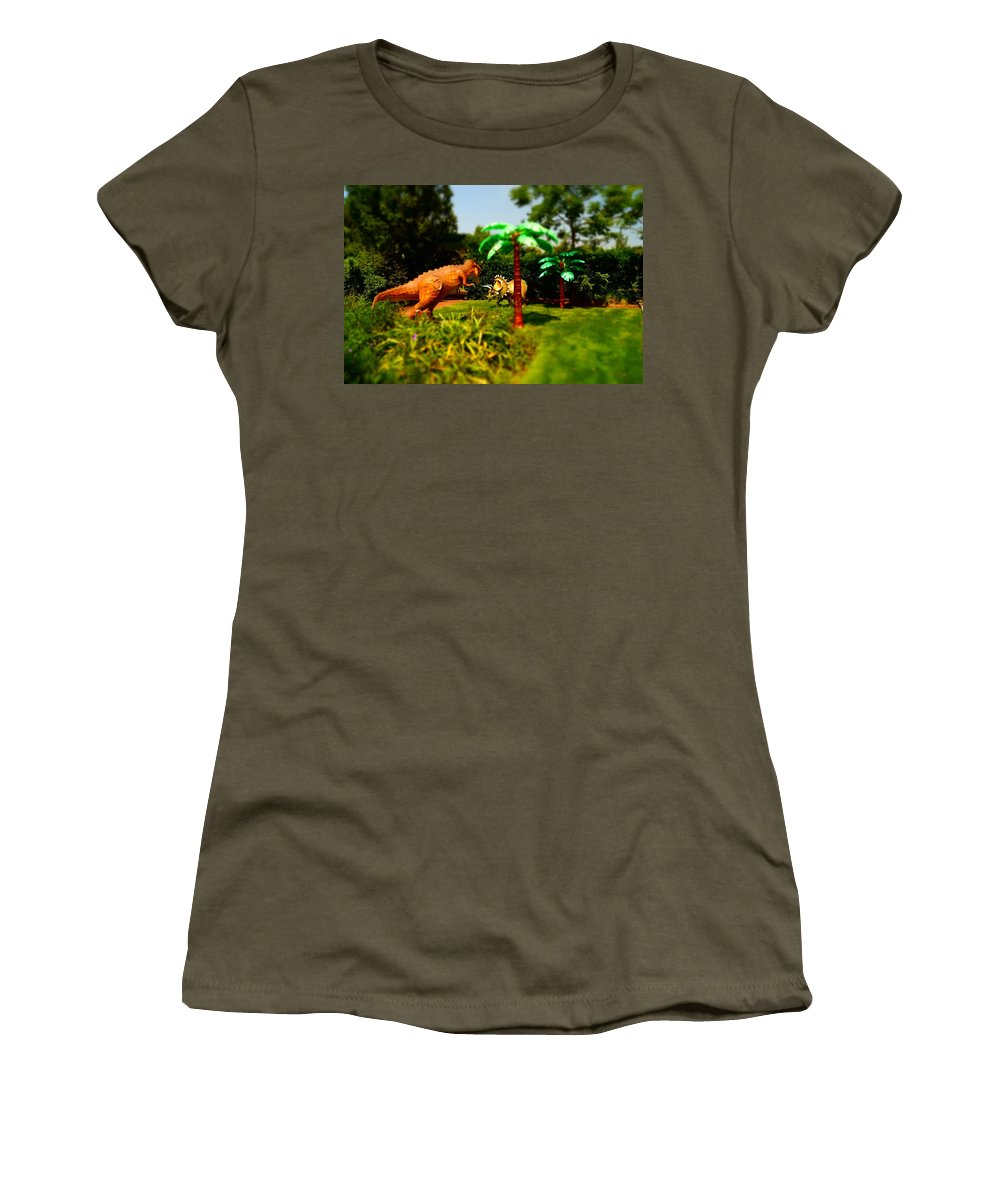 Women's T-Shirt featuring the photograph Wonderland 17 by Rodney Lee Williams