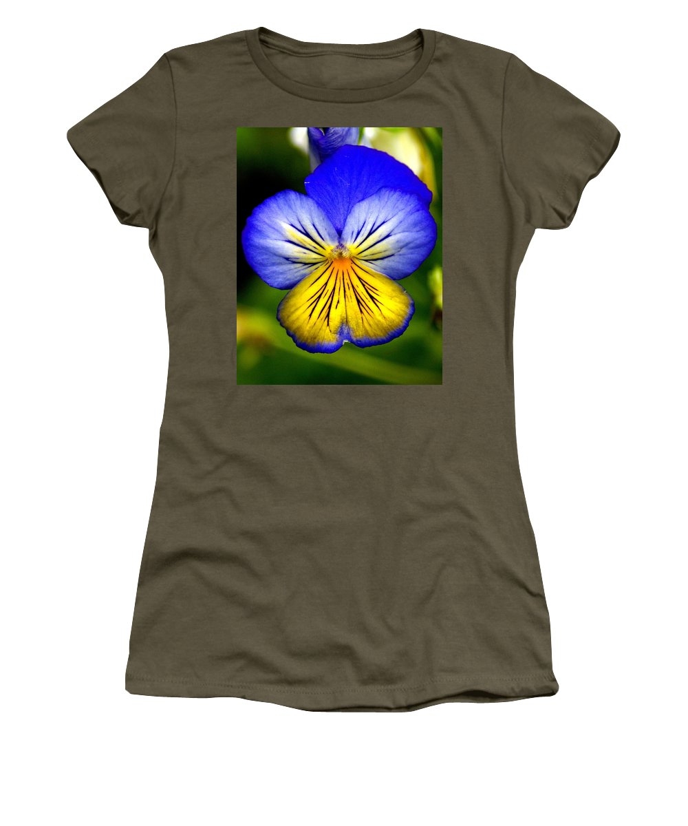Flowers Women's T-Shirt featuring the photograph You're Invited by Ben Upham III