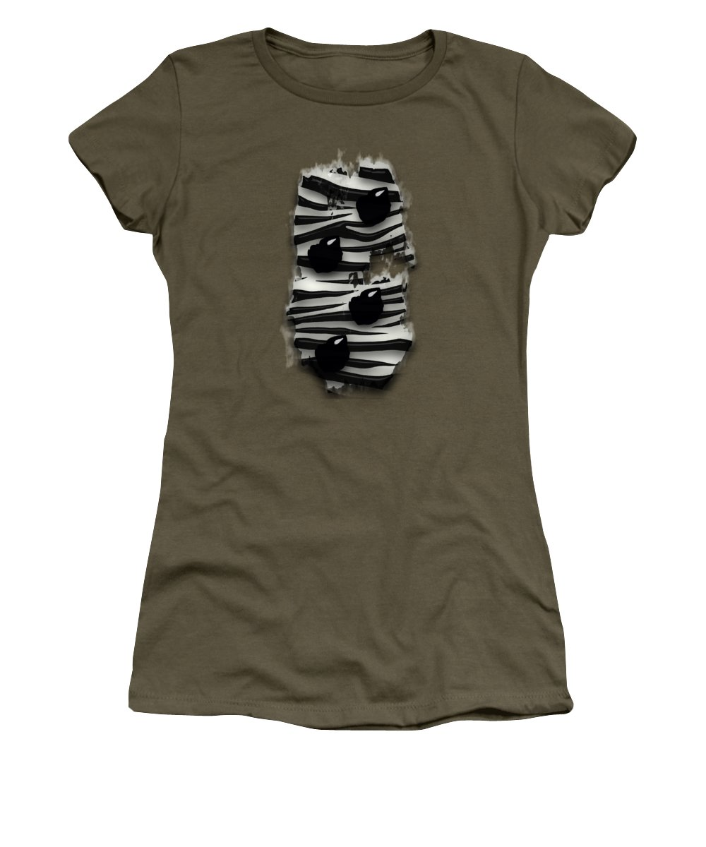 Emotion Women's T-Shirt featuring the mixed media Emotion by Marvin Blaine