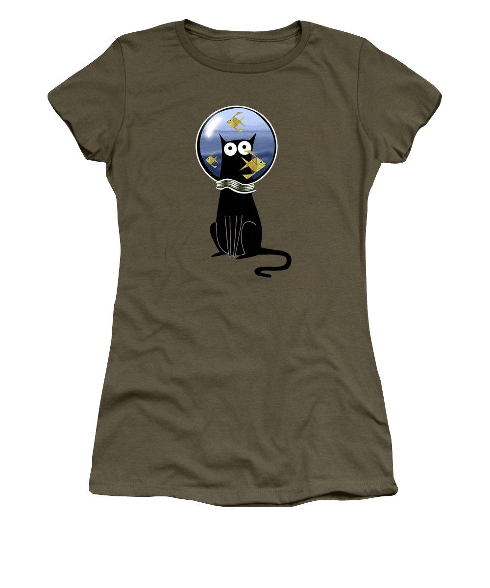 Fluid Women's T-Shirts