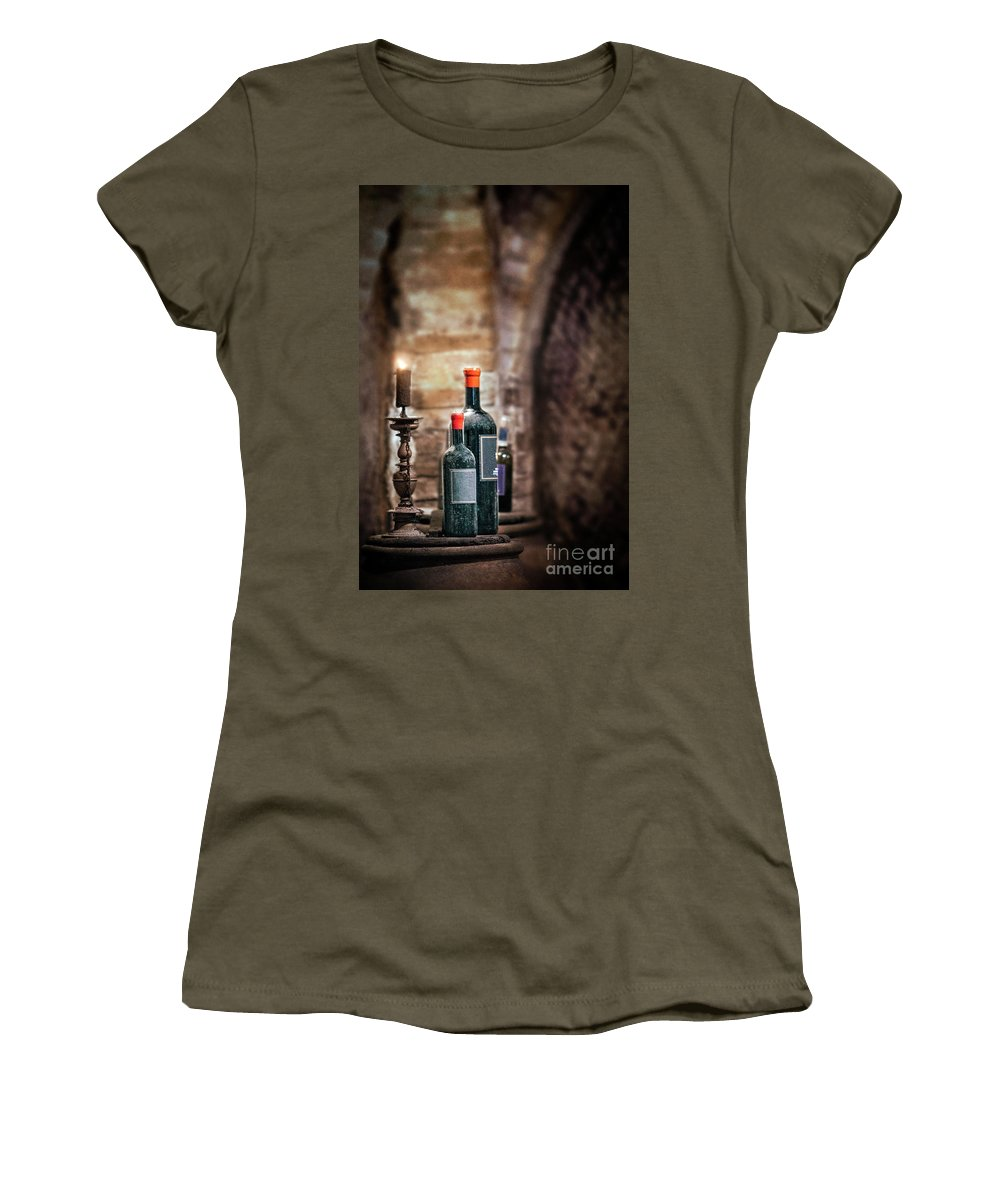 Kremsdorf Women's T-Shirt featuring the photograph Hidden Treasures by Evelina Kremsdorf