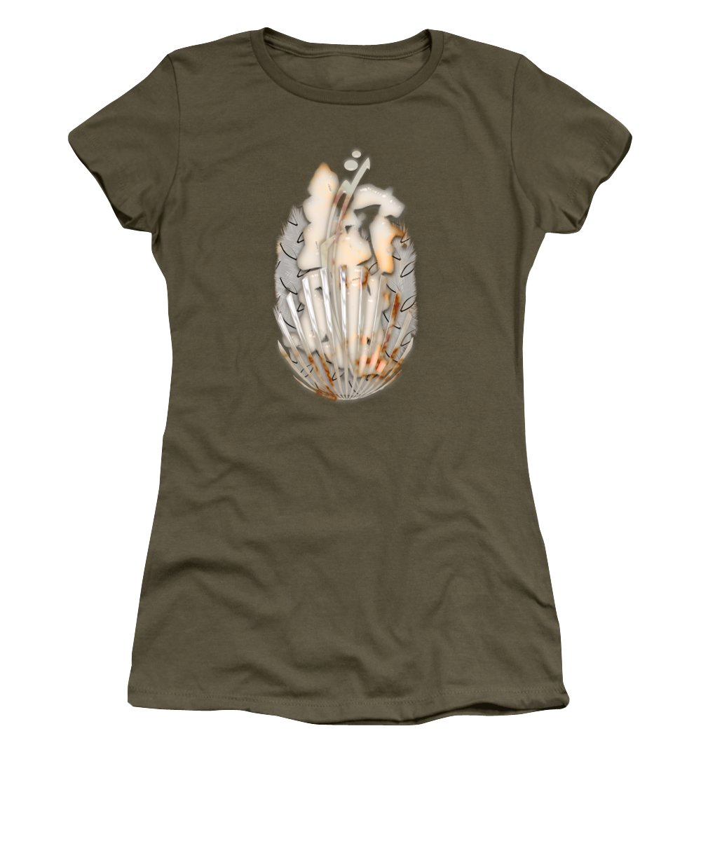In Translation Women's T-Shirt featuring the mixed media In Translation by Marvin Blaine