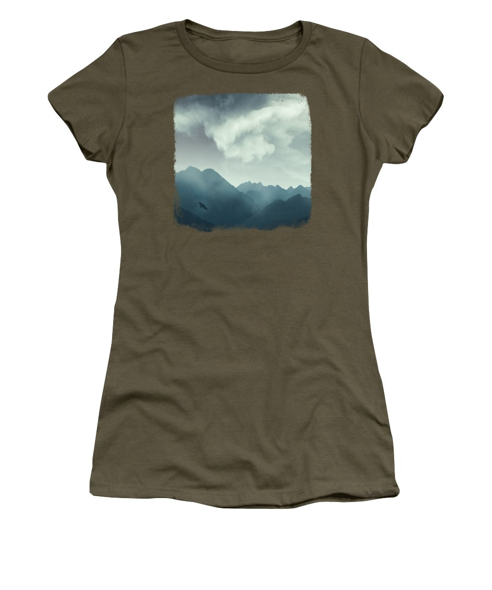 Morning Mist Photographs Women's T-Shirts