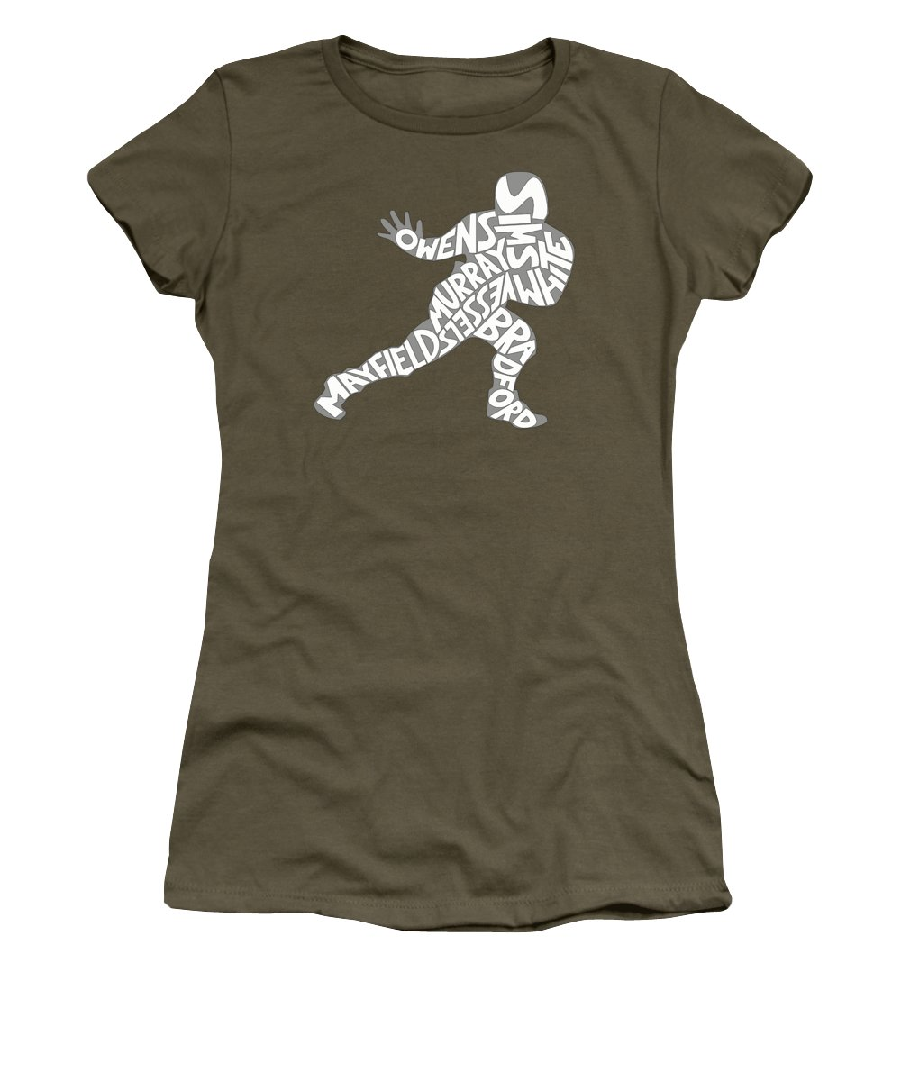 College Football Photographs Women's T-Shirts