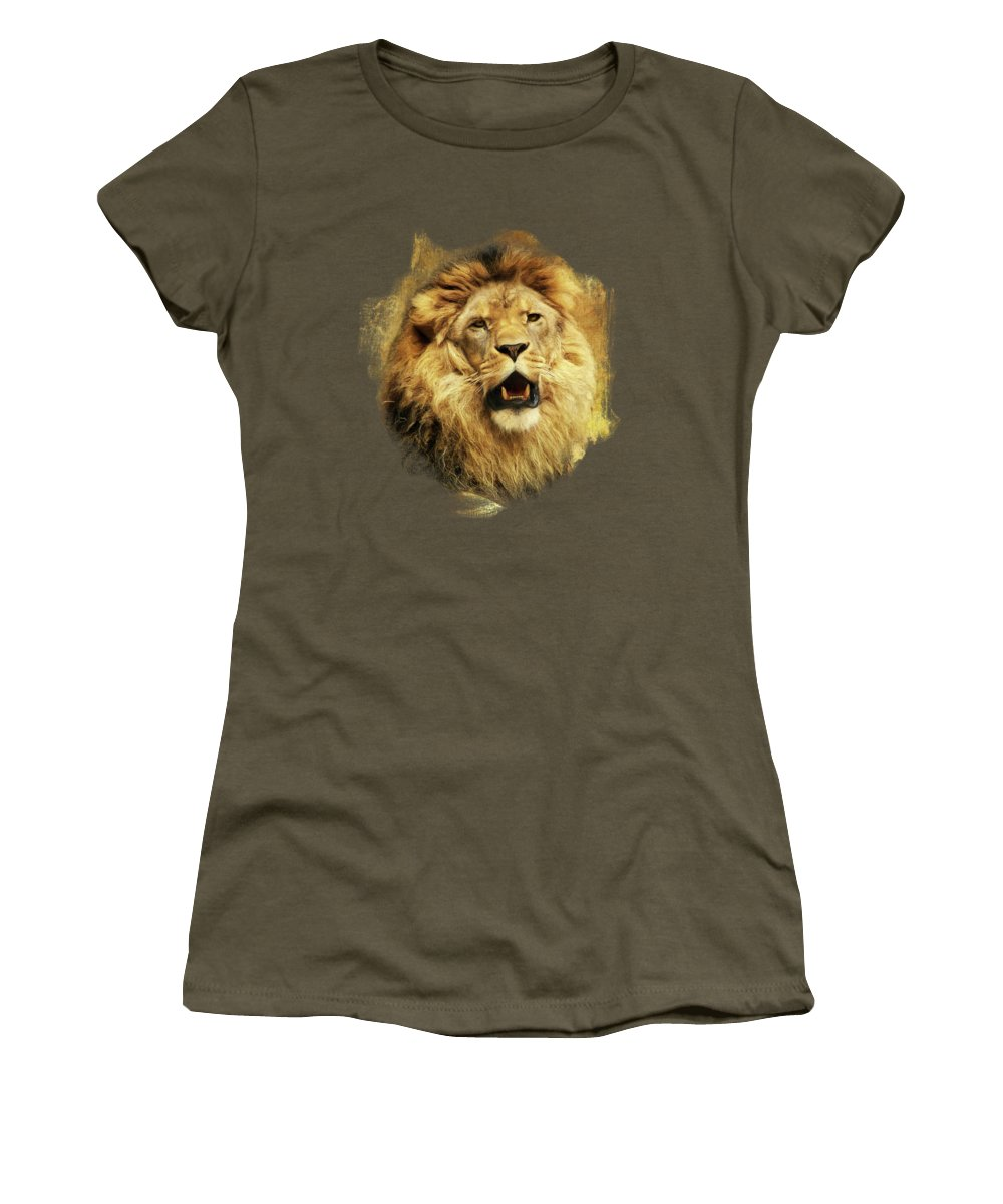 Imposing Digital Art Women's T-Shirts