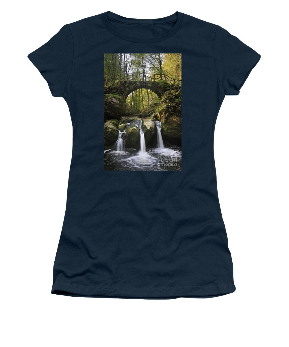 Schiessent�mpel Women's T-Shirt featuring the photograph 110414p155 by Arterra Picture Library