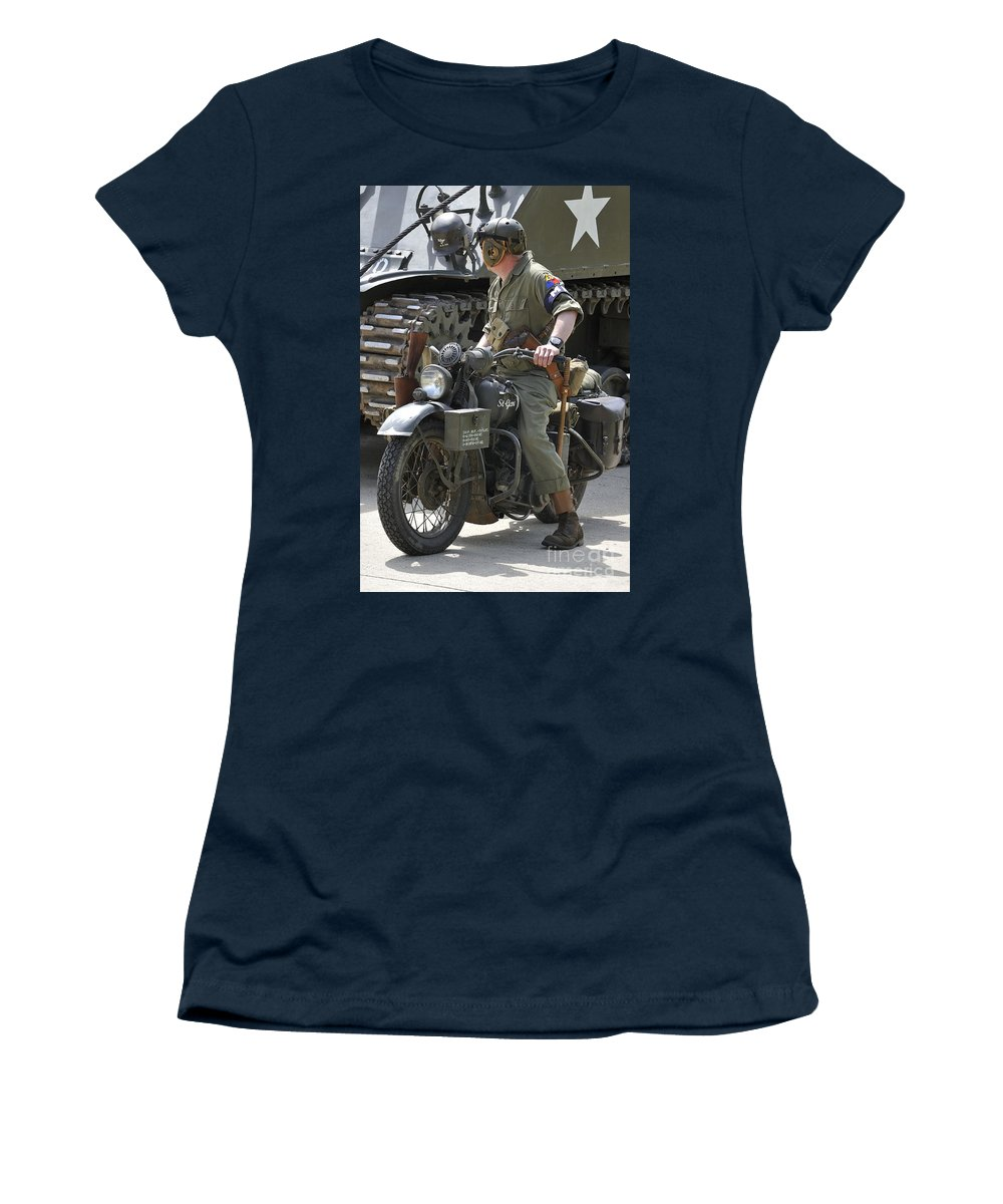 Wold War Ii Women's T-Shirt featuring the photograph 110506p333 by Arterra Picture Library