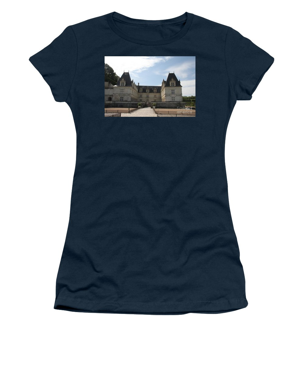 Palace Women's T-Shirt featuring the photograph Chateau Villandry by Christiane Schulze Art And Photography