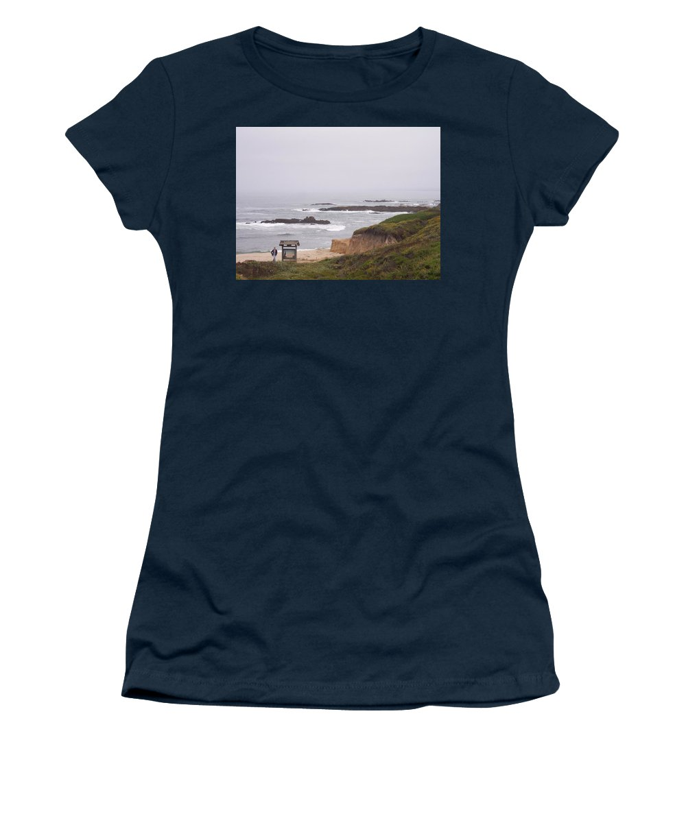 Coast Women's T-Shirt featuring the photograph Coastal Scene 7 by Pharris Art