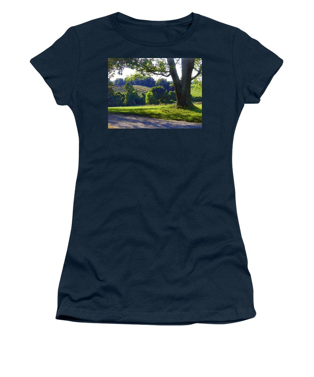 Landscape Women's T-Shirt featuring the photograph Country Landscape by Steve Karol