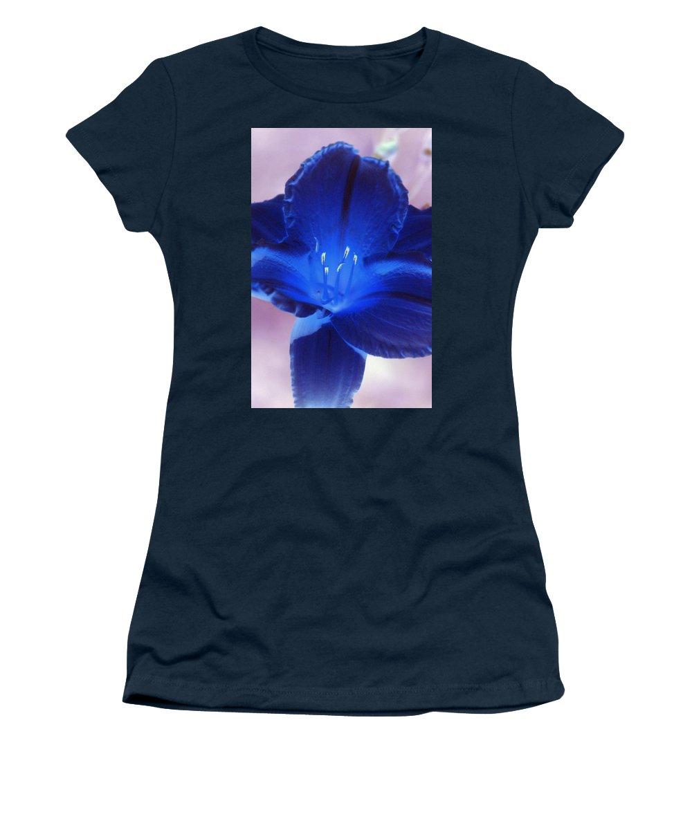 Flower Women's T-Shirt featuring the photograph Flower Power 1424 by Pamela Critchlow