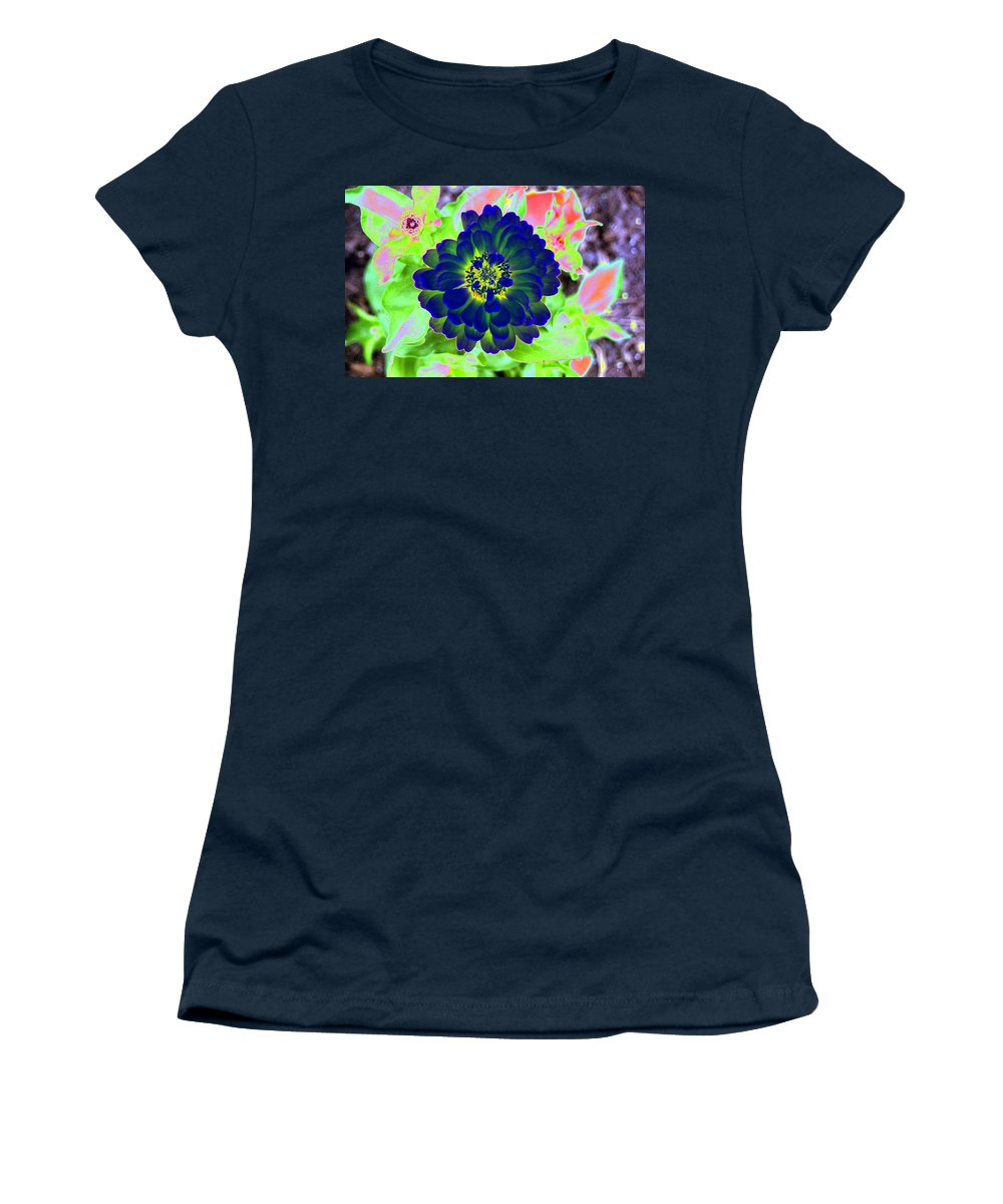 Flower Women's T-Shirt featuring the photograph Flower Power 1460 by Pamela Critchlow