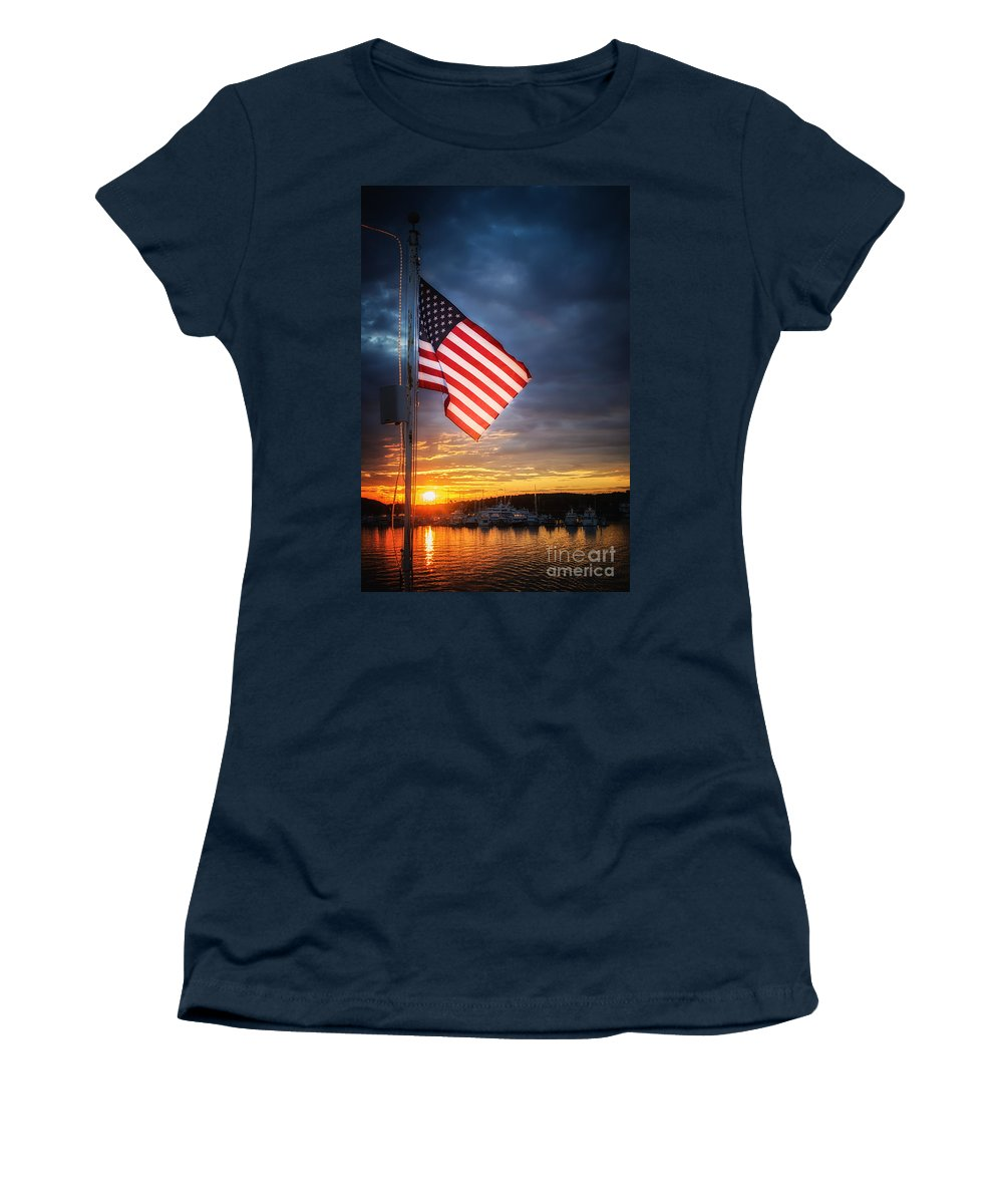 Women's T-Shirt featuring the photograph Glowing Glory by Scott Thorp