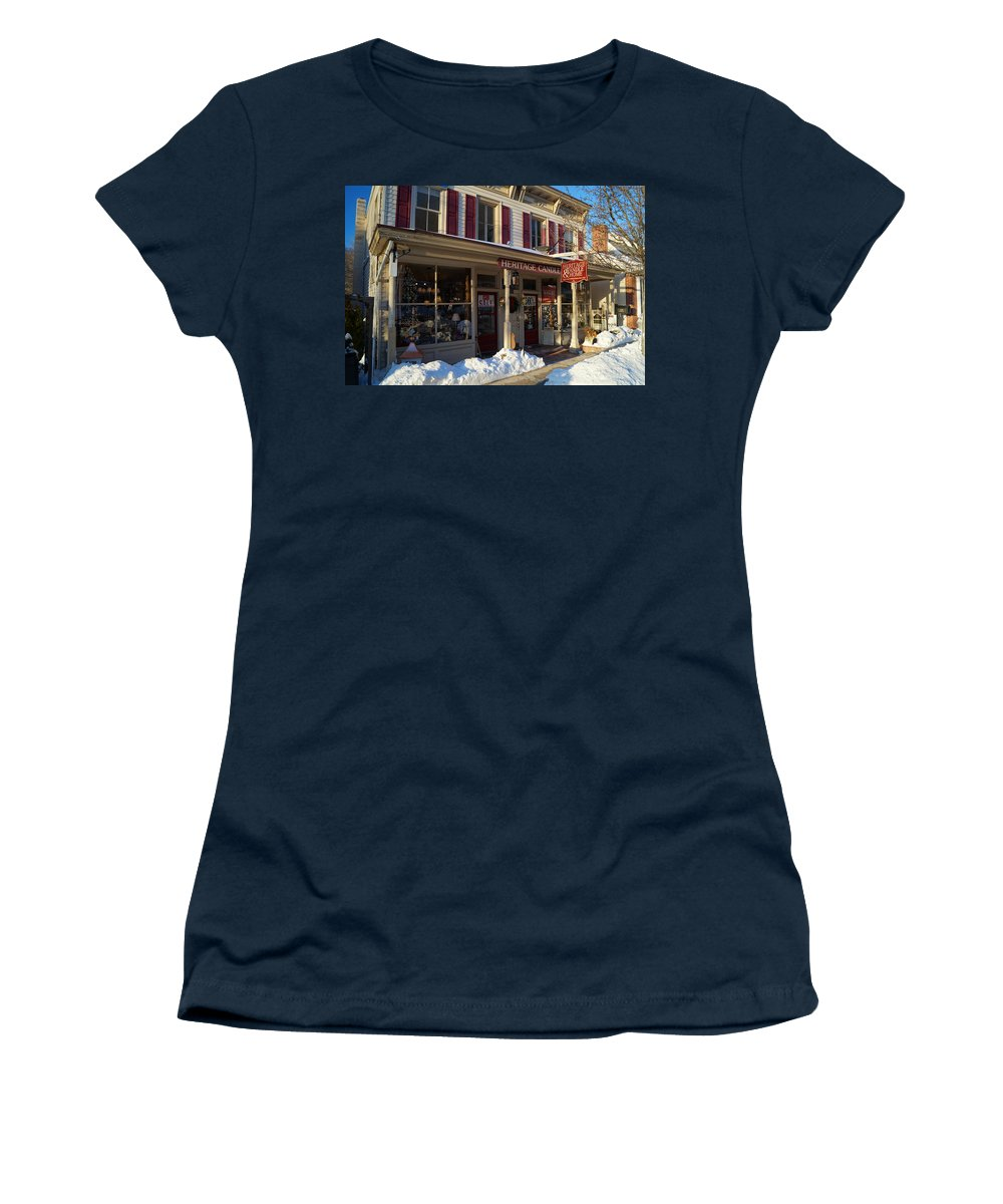 Heritage Women's T-Shirt featuring the photograph Heritage Candle by John Wall