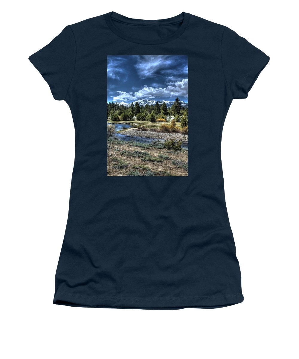 Tags: Landscape Women's T-Shirt featuring the photograph Hope Valley Wildlife Area 2 by SC Heffner