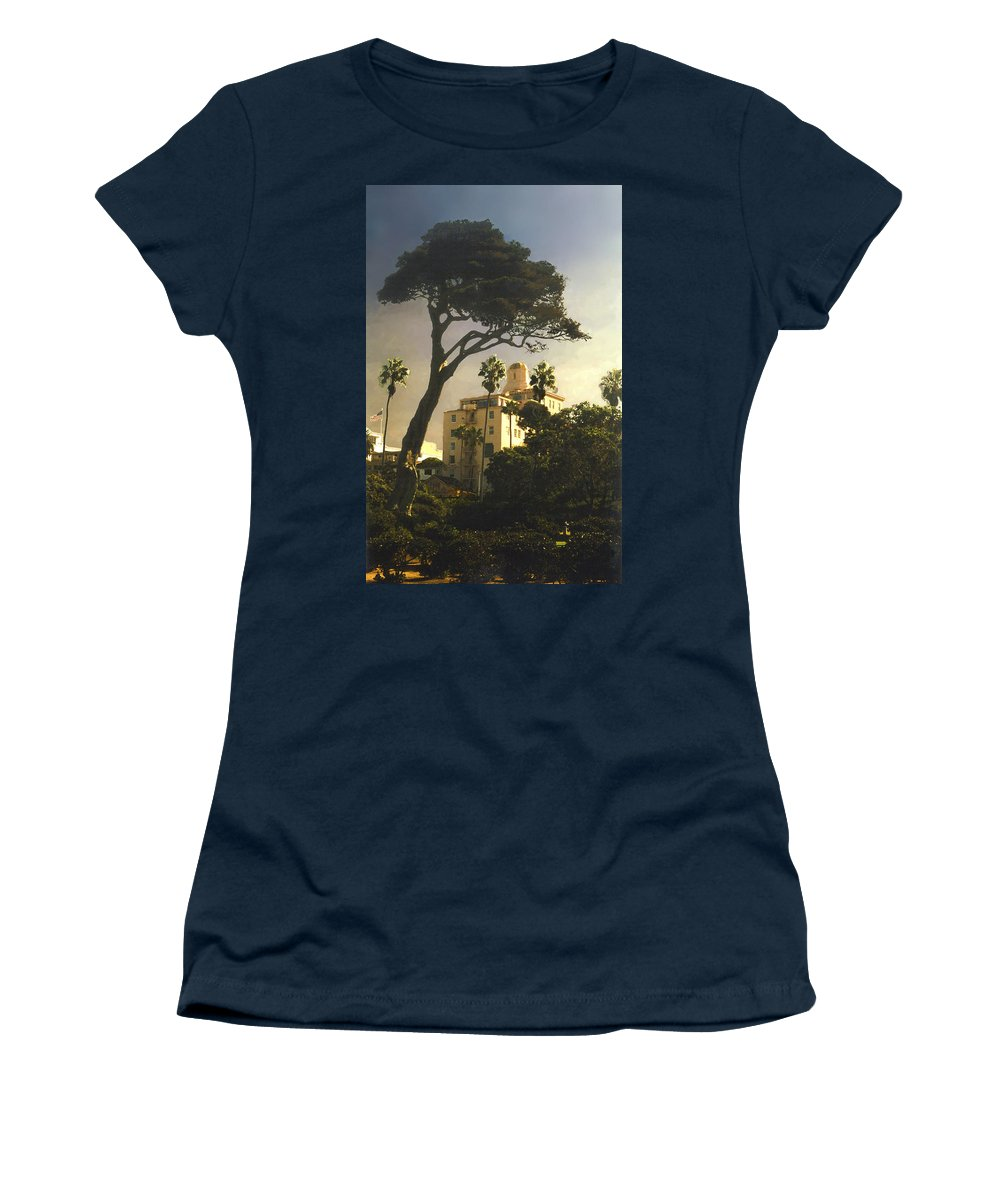 Landscape Women's T-Shirt featuring the photograph Hotel California- La Jolla by Steve Karol
