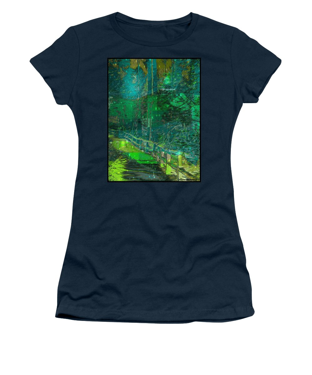 Nature Women's T-Shirt featuring the photograph Into The Wild by Ellen Cannon