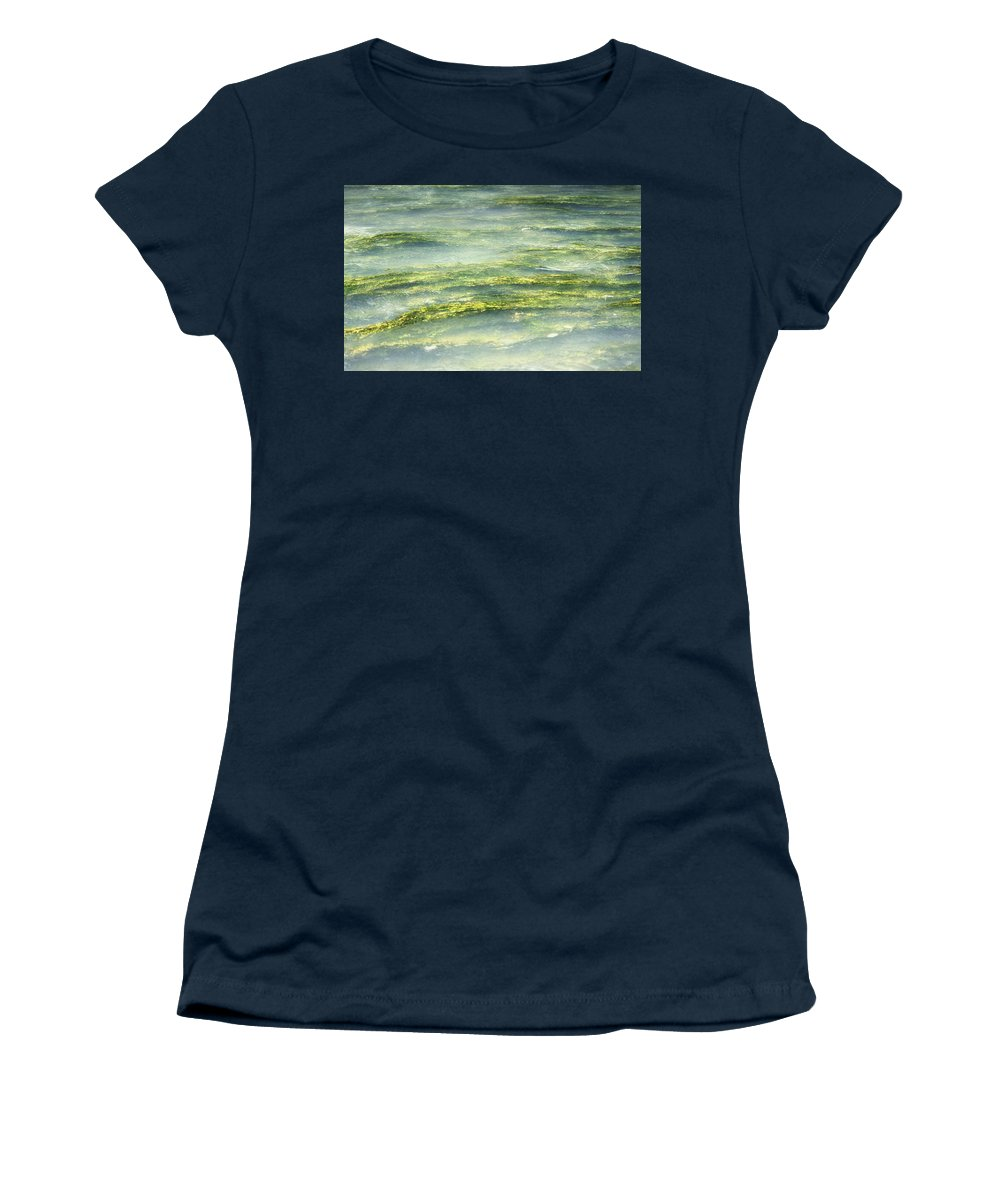 Water Women's T-Shirt featuring the photograph Mossy Tranquility by Melanie Lankford Photography