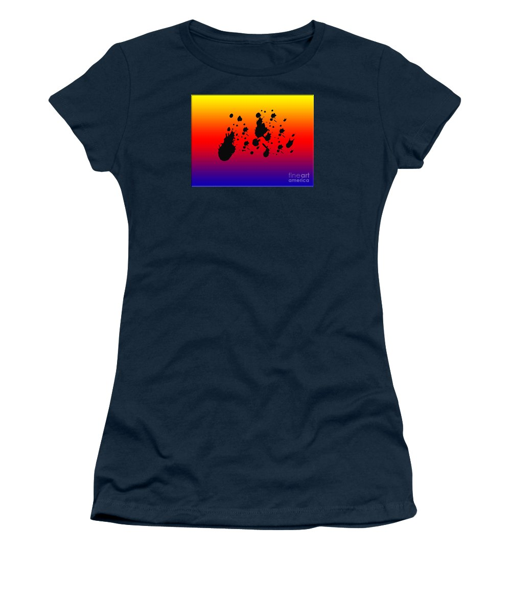 Horizon Women's T-Shirt featuring the photograph Nebulas by Tina M Wenger