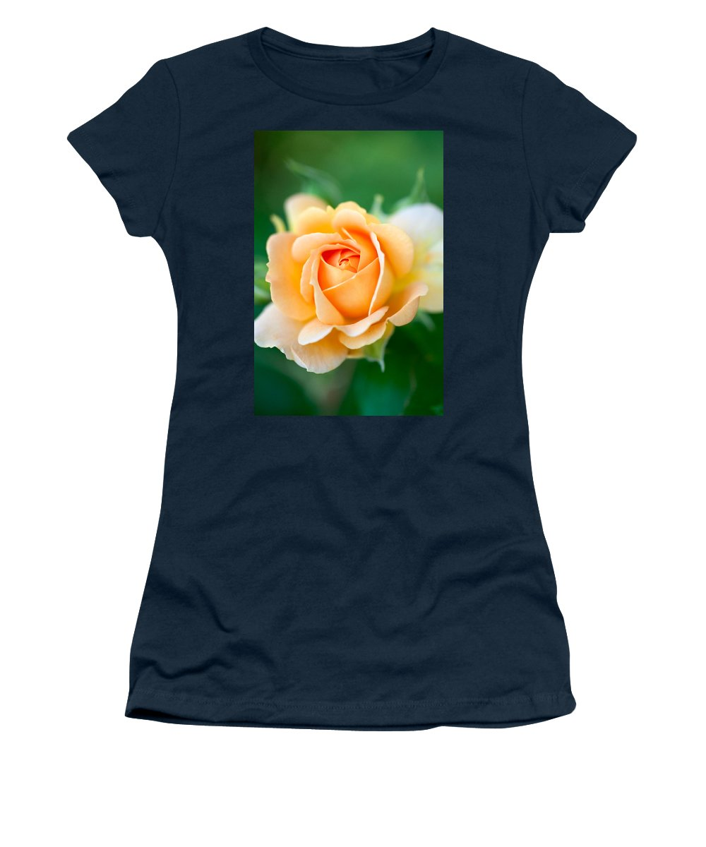 Rose Women's T-Shirt featuring the photograph Original From The Depths by Teri Schuster