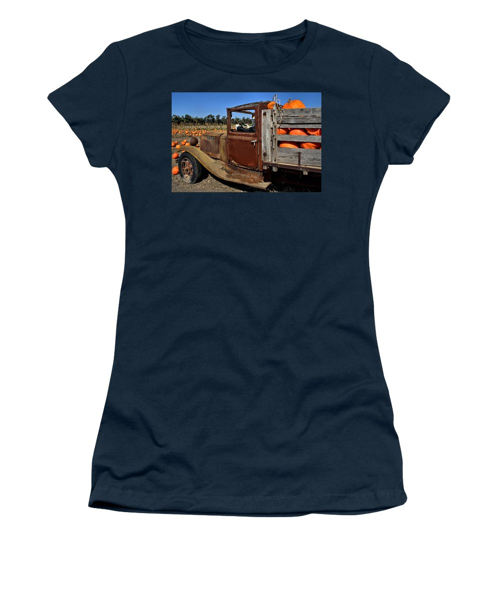 History Women's T-Shirt featuring the photograph Pale Rider by Michael Gordon