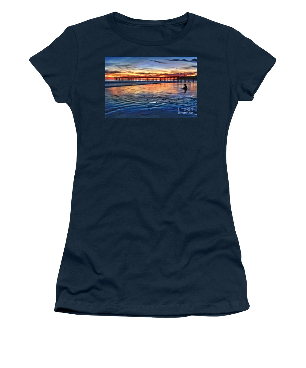 Peace Women's T-Shirt featuring the photograph Peace by Beth Sargent