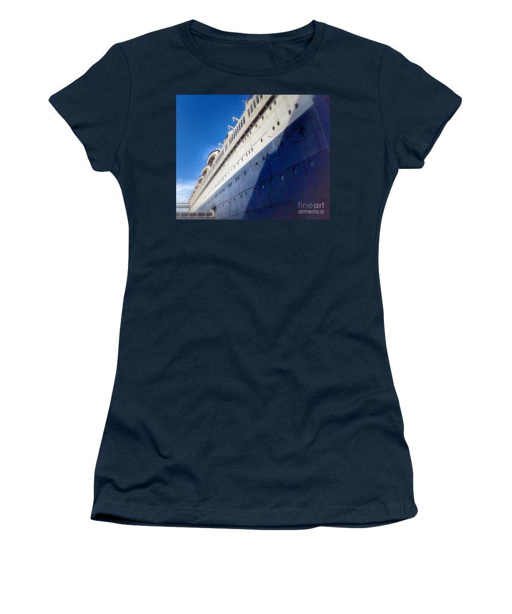 Queen's Blue Women's T-Shirt featuring the photograph Queen's Blue by Susan Garren