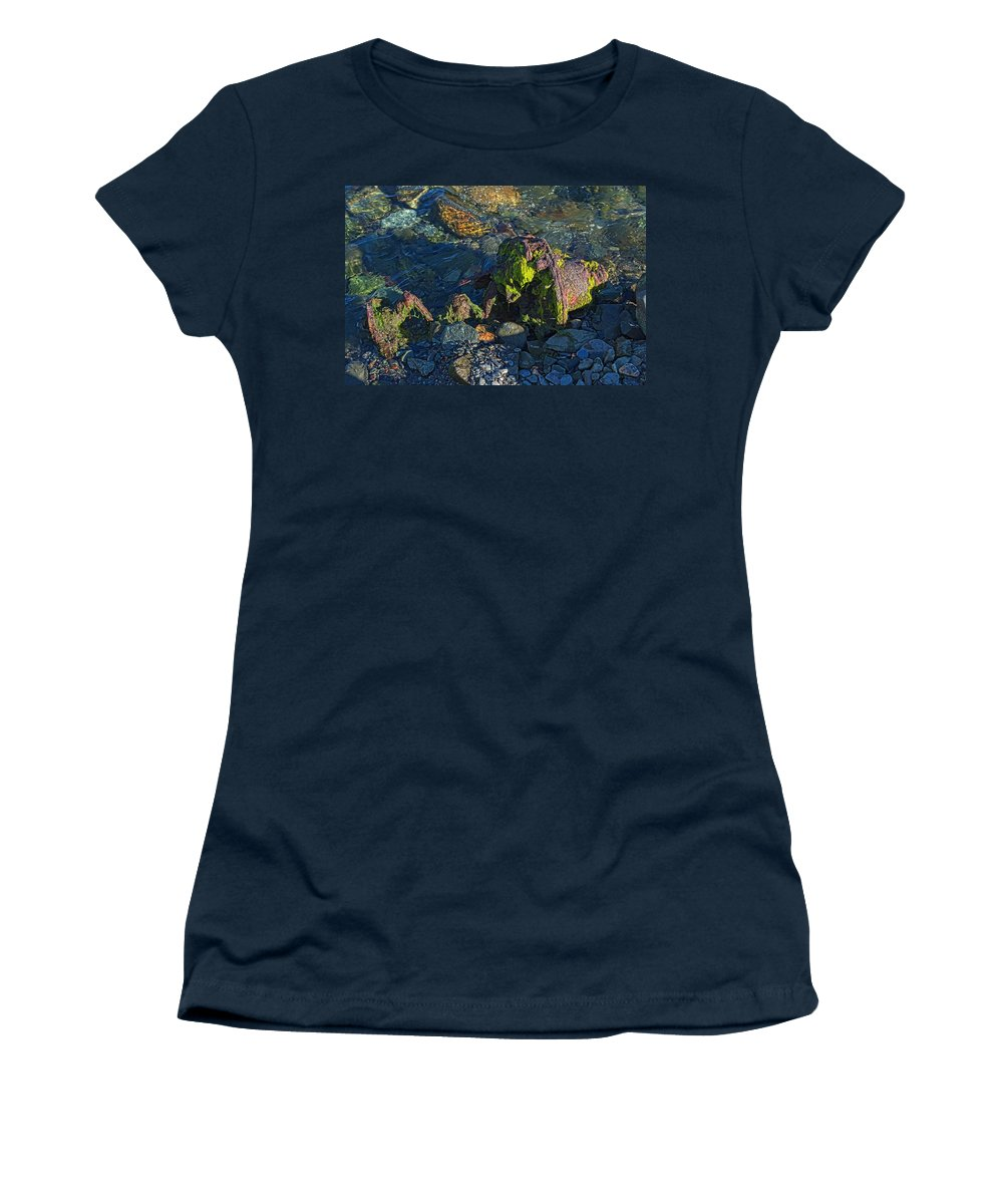 Remnant Women's T-Shirt featuring the photograph Remnant by Cathy Mahnke