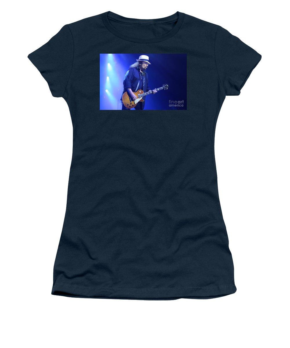 Lynyrd Skynyrd Women's T-Shirt featuring the photograph Skynyrd-gary-7399 by Gary Gingrich Galleries