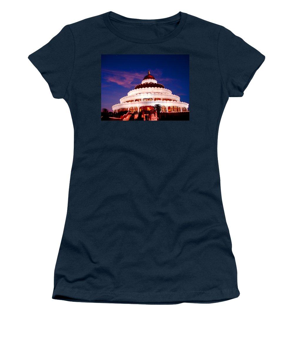 Guru Women's T-Shirt featuring the photograph Sri Sri Ravi Shankar Ashram India by Sumit Mehndiratta