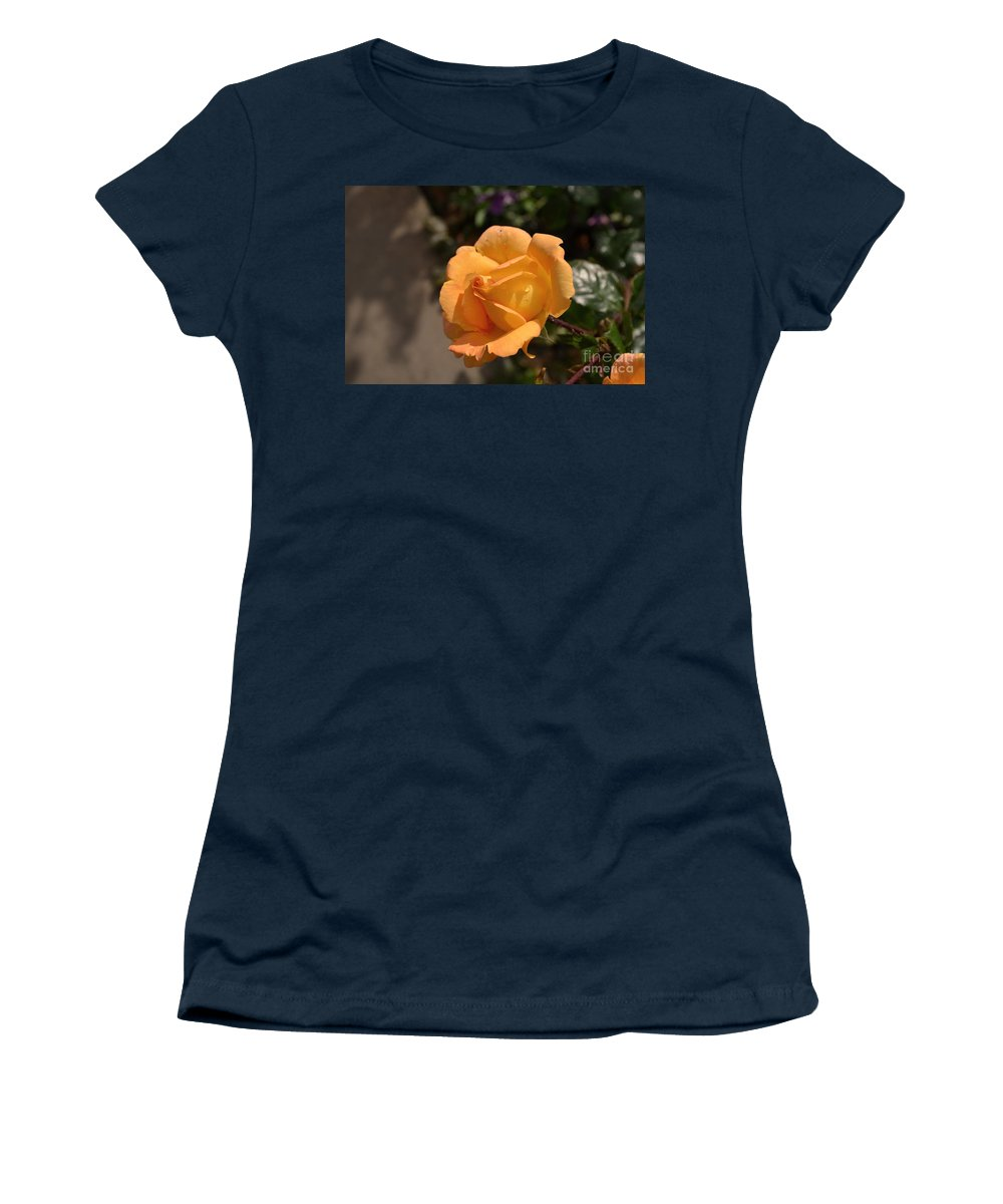 Rose Women's T-Shirt featuring the photograph Stirling Rose by DejaVu Designs