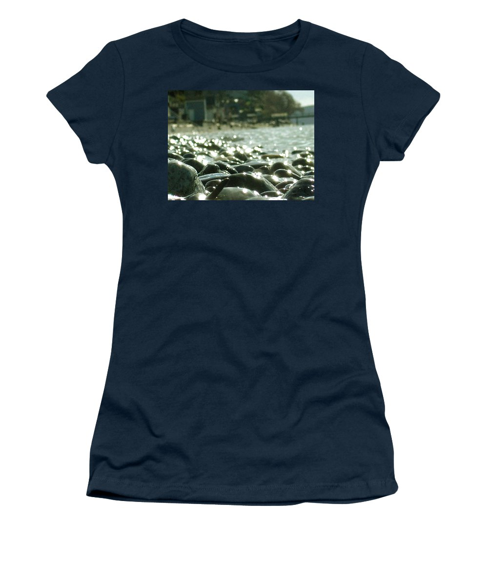 Stones Women's T-Shirt featuring the photograph Stones 5 by Marcello Cicchini
