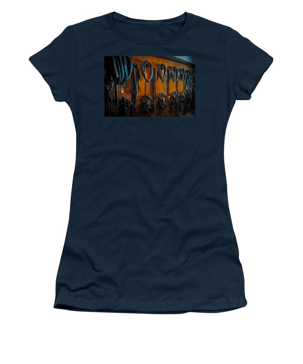 Horse Women's T-Shirt featuring the photograph Tack Room by Paul Freidlund