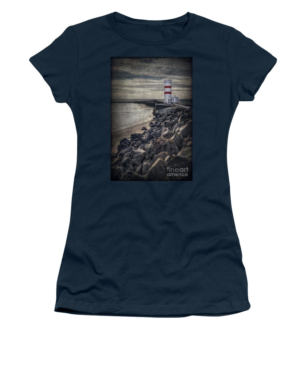 Gardskagi Women's T-Shirt featuring the photograph The Night Watch by Evelina Kremsdorf