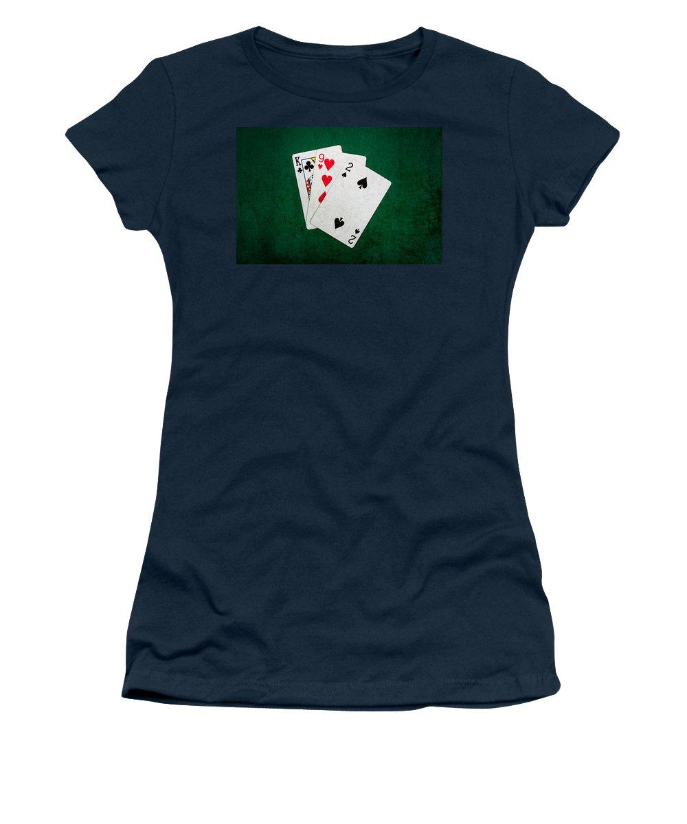 Blackjack Women's T-Shirt featuring the photograph Twenty One 5 by Alexander Senin