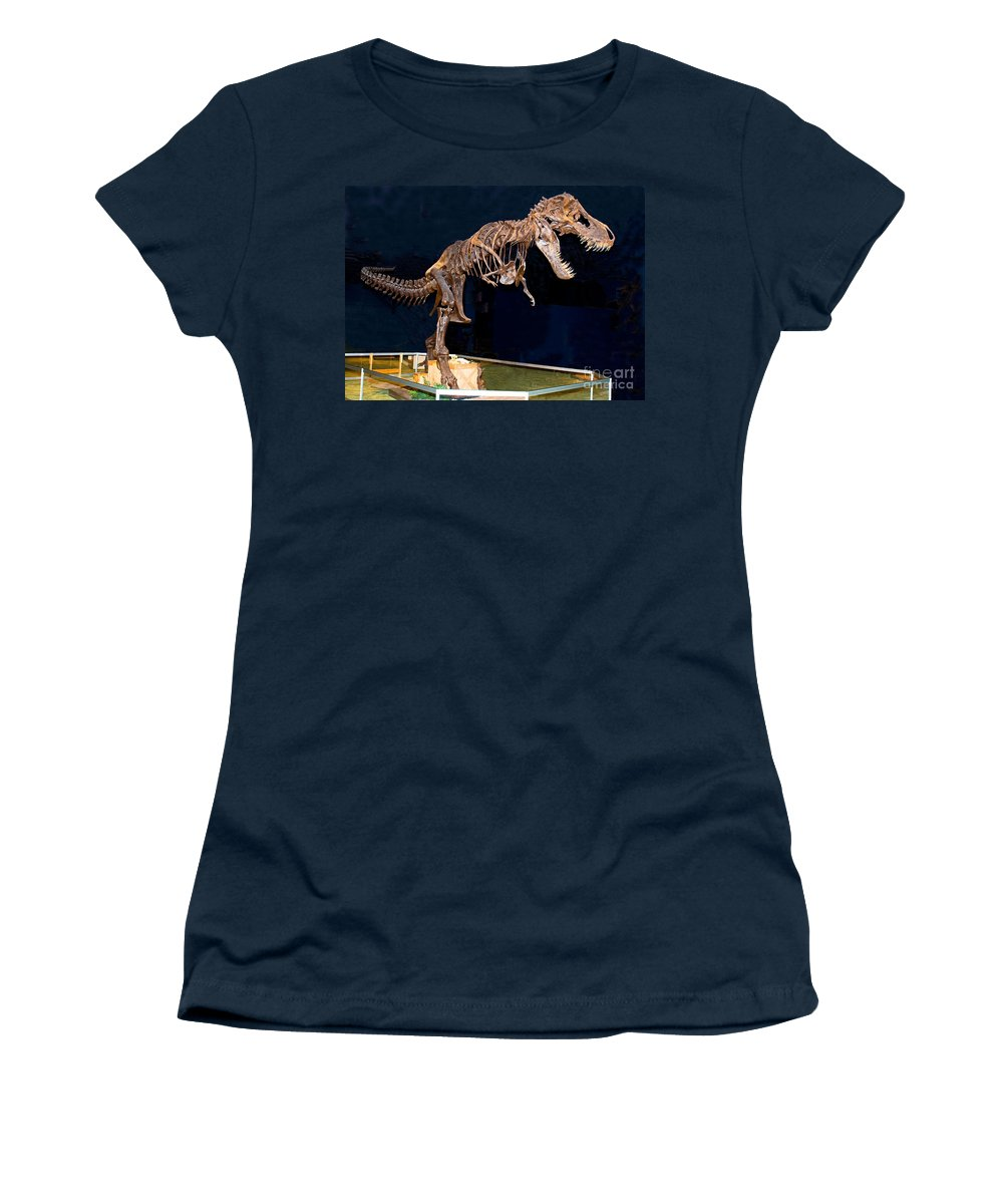 Nature Women's T-Shirt featuring the photograph Tyrannosaurus Rex by Millard H. Sharp
